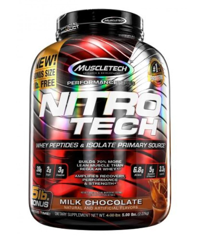 Nitrotech Whey Protein Peptides & Isolate.